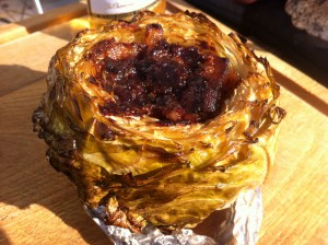 BBQ Cabbage finished!