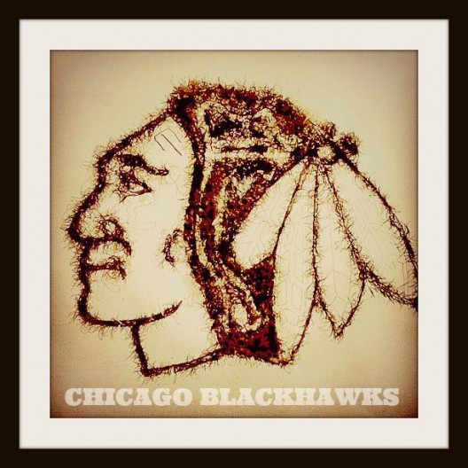Hawks logo.